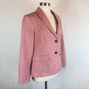 Talbots Pink Tweed Blazer, size 10